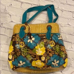 FOSSIL Key Coated Canvas Tote